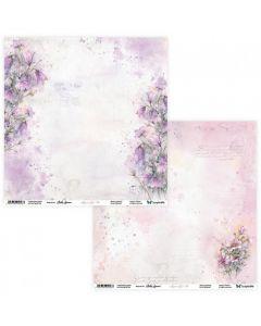 Dvostranski papir - Aquarelles 05/06 - 30,5x30,5cm - 250g