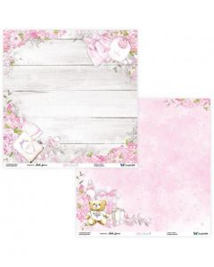 Dvostranski papir - Little Cuties 03/04 - 30,5x30,5cm - 250g