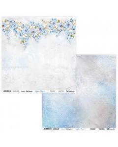 Dvostranski papir - Sapphire Days 03/04 - 30,5x30,5cm - 250g