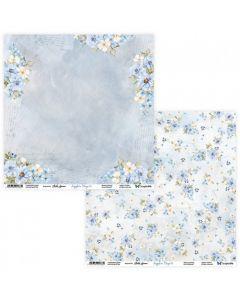 Dvostranski papir - Sapphire Days 05/06 - 30,5x30,5cm - 250g