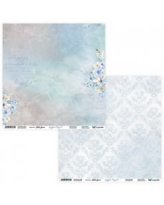 Dvostranski papir - Sapphire Days 07/08 - 30,5x30,5cm - 250g