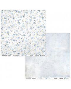 Dvostranski papir - Sapphire Days 09/10 - 30,5x30,5cm - 250g