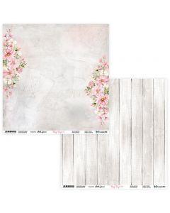 Dvostranski papir - Rosy Days 01/02 - 30,5x30,5cm - 250g