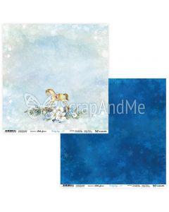 Dvostranski papir - Frosty Days 03/04 - 30,5x30,5cm - 250g