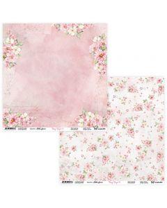 Dvostranski papir - Rosy Days 05/06 - 30,5x30,5cm - 250g