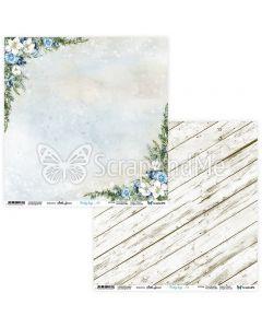 Dvostranski papir - Frosty Days 05/06 - 30,5x30,5cm - 250g