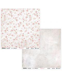 Dvostranski papir - Rosy Days 09/10 - 30,5x30,5cm - 250g