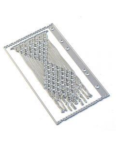 Rezalna šablona - Sidekick Essentials 9 - Macrame & Page - 9,7x17cm - Elizabeth craft designs