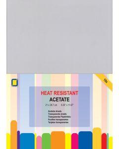 Prozorna acetatna folija - A4 - odporna na toploto - 10 kos