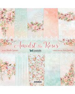 Set dvostranskih papirjev - Amidst the Roses - 30,5x30,5cm - 6 listov - 250g