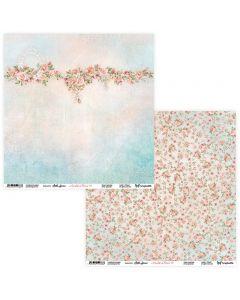 Dvostranski papir - Amidst the Flowers 05/06 - 30,5x30,5cm - 250g