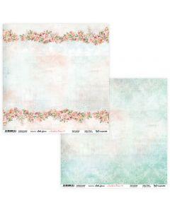 Dvostranski papir - Amidst the Flowers 07/08 - 30,5x30,5cm - 250g
