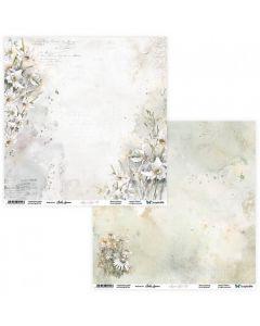 Dvostranski papir - Aquarelles 01/02 - 30,5x30,5cm - 250g
