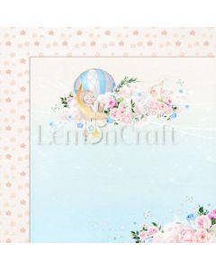 Obojestranski papir - Baby Boom 02 - 30,5x30,5cm - 250g - Lemoncraft