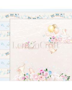 Obojestranski papir - Baby Boom 04 - 30,5x30,5cm - 250g - Lemoncraft