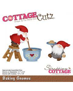 Rezalna šablona CottageCutz Baking Gnomes