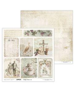Dvostranski papir - Beautiful Moments 03 - 30,5x30,5cm - 250g - Lexi Design