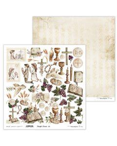 Dvostranski papir - Beautiful Moments 05 - 30,5x30,5cm - 250g - Lexi Design