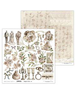 Dvostranski papir - Beautiful Moments 07 - 30,5x30,5cm - 250g - Lexi Design