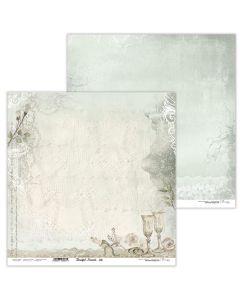 Dvostranski papir - Beautiful Moments 08 - 30,5x30,5cm - 250g - Lexi Design