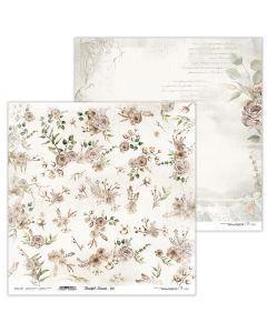Dvostranski papir - Beautiful Moments 09 - 30,5x30,5cm - 250g - Lexi Design
