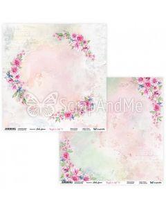Dvostranski papir - Bright & Soft 01/02 - 30,5x30,5cm - 250g