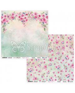 Dvostranski papir - Bright & Soft 03/04 - 30,5x30,5cm - 250g
