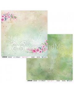 Dvostranski papir - Bright & Soft 07/08 - 30,5x30,5cm - 250g