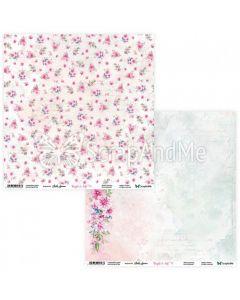 Dvostranski papir - Bright & Soft 09/10 - 30,5x30,5cm - 250g