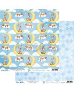 Dvostranski papir - Cute Bunny Boy 05 - 30,5x30,5cm - 250g - Craft Passion