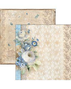 Dvostranski papir - Il giardino di Lucrezia - 30,5x30,5cm - 190g