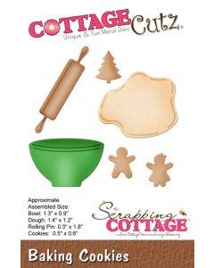 Rezalna šablona CottageCutz Baking Cookies