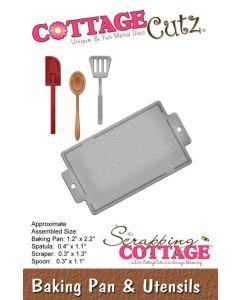 Rezalna šablona CottageCutz Baking Pan & Utensils