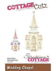 Rezalna šablona CottageCutz Wedding Chapel