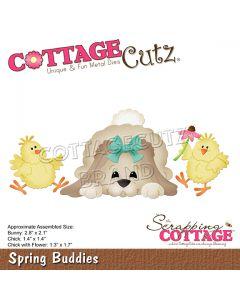 Rezalna šablona CottageCutz Spring Buddies