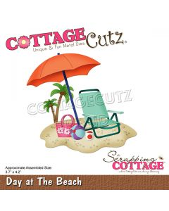 Rezalna šablona CottageCutz Day at The Beach