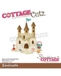 Rezalna šablona CottageCutz Sandcastle