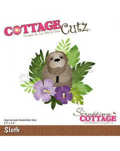 Rezalna šablona CottageCutz Sloth