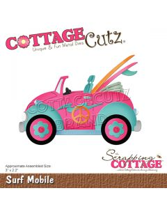 Rezalna šablona CottageCutz Surf Mobile