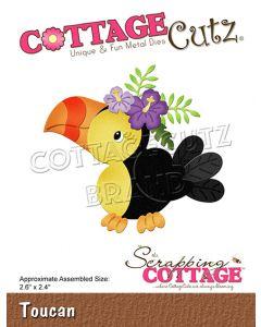 Rezalna šablona CottageCutz Toucan