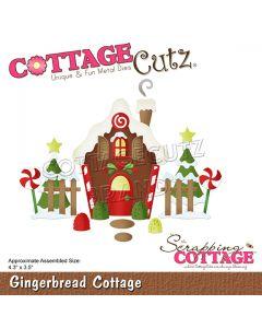 Rezalna šablona CottageCutz Gingerbread Cottage