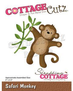 Rezalna šablona CottageCutz Safari Monkey