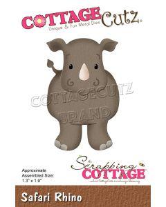 Rezalna šablona CottageCutz Safari Rhino