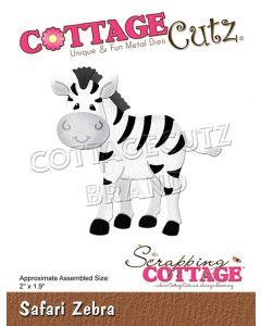 Rezalna šablona CottageCutz Safari Zebra