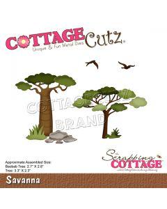 Rezalna šablona CottageCutz Savanna