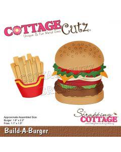 Rezalna šablona CottageCutz Build-A-Burger