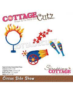 Rezalna šablona CottageCutz Circus Side Show