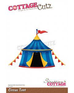 Rezalna šablona CottageCutz Circus Tent