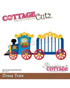 Rezalna šablona CottageCutz Circus Train