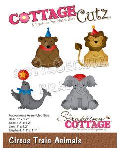 Rezalna šablona CottageCutz Circus Train Animals